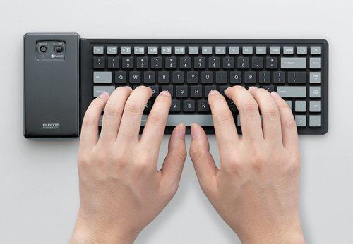 シリコン製ワイヤレスキーボード『TK-FBS035E』シリーズ