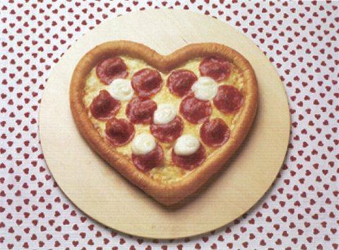 ハッピーバレンタインピザ
