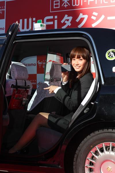藤本美貴さんは1台目に乗車