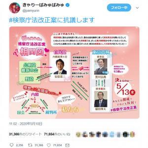 きゃ りー ぱみゅ ぱみゅ 検察庁