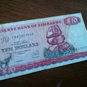 ドル いくら ジンバブエ 円