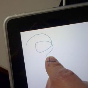 を 描く 絵 ipad
