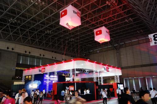 【東京ゲームショウ2015】『YouTube』と『Amazon』が初出展